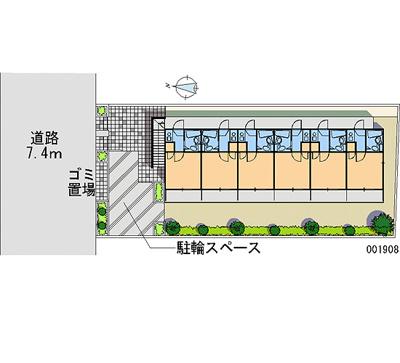【地図】竹の塚第8