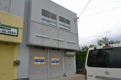 【外観】中区八田北町倉庫付事務所