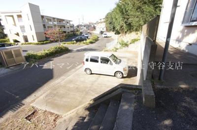 【駐車場】清風ハイツB