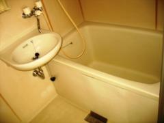 【浴室】レピュート山本ハイツ
