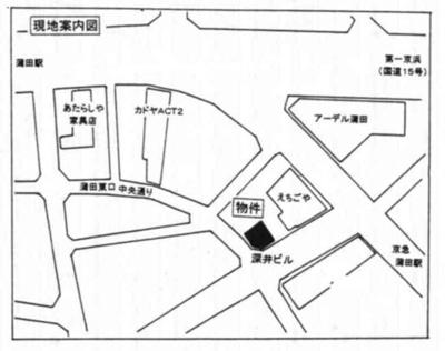 【地図】深井ビル