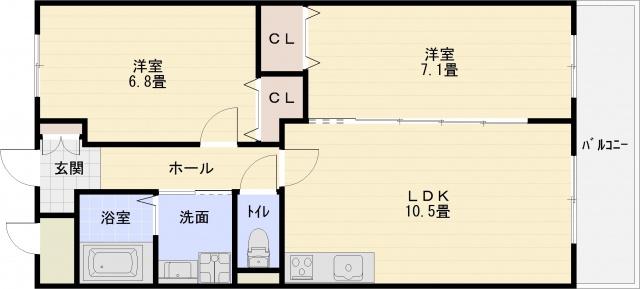 八尾市 2LDK