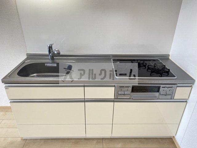 コスモ(高安駅)リビングダイニングキッチン