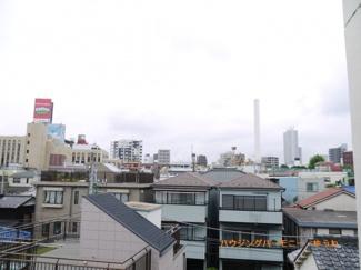 地上4階からの風景。なんかうれしいですね。