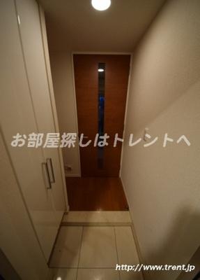 【玄関】グランスイート神楽坂