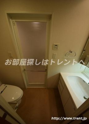 【洗面所】グランスイート神楽坂