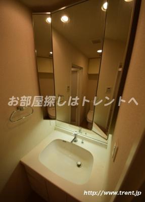 【独立洗面台】グランスイート神楽坂