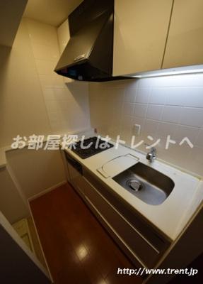 【キッチン】グランスイート神楽坂