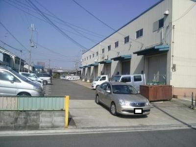 【外観】松原市小川倉庫