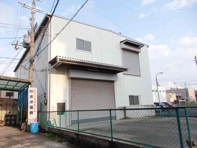 【外観】島之内2階建倉庫