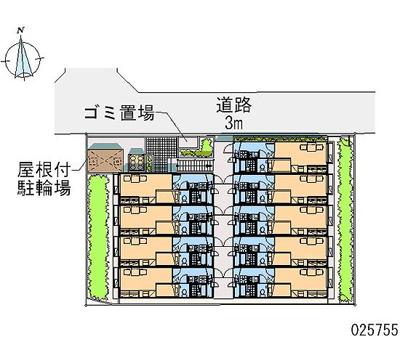 【区画図】北巽駅北