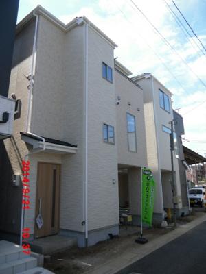 【外観】さいたま市中央区鈴谷4丁目/新築分譲住宅全2棟