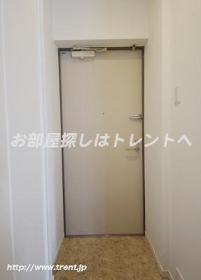 【玄関】リエス小石川