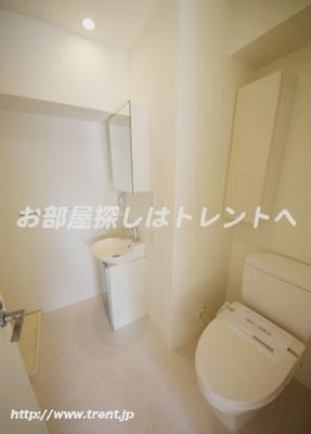 【洗面所】リエス小石川