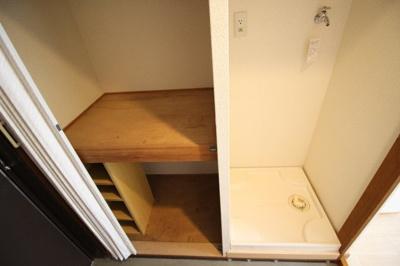 ☆玄関収納&室内洗濯機置き場☆