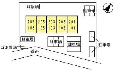 【区画図】エクセル東合川