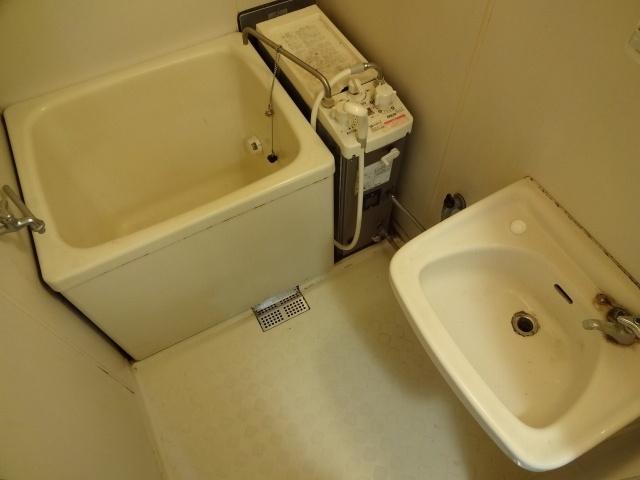 【浴室】プレジールハイツ