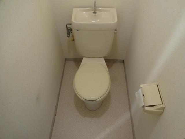 【トイレ】プレジールハイツ