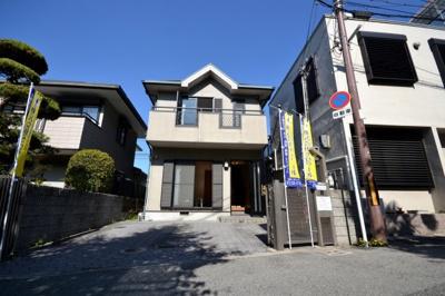 【前面道路含む現地写真】堺市堺区北丸保園 戸建