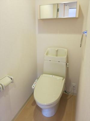 シャワー付きトイレです。