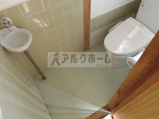 太平寺1丁目平屋(柏原市太平寺) お手洗い