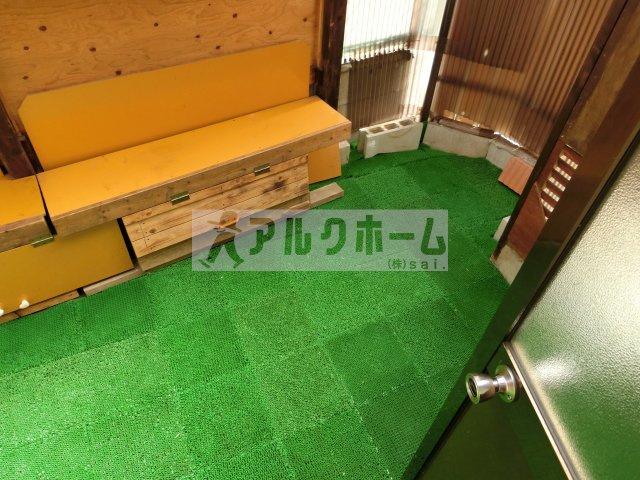【バルコニー】太平寺1丁目平屋
