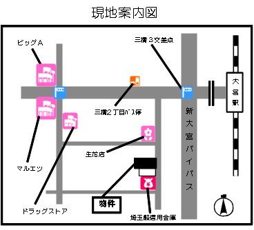 【地図】シテイ・ヒルズ