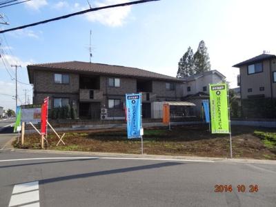 【前面道路含む現地写真】さいたま市緑区大間木/新築分譲住宅全3棟