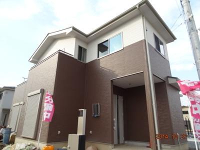 【外観】羽生市上村君/新築分譲住宅全5棟