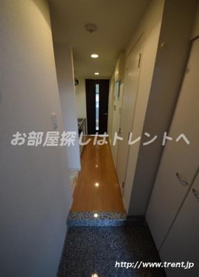 【玄関】ステージファースト神楽坂Ⅱ