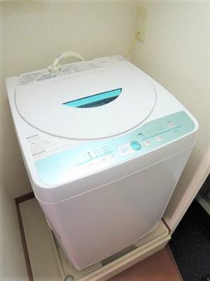 全自動洗濯機付き