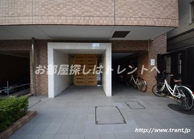 【エントランス】サンマンションアトレ飯田橋