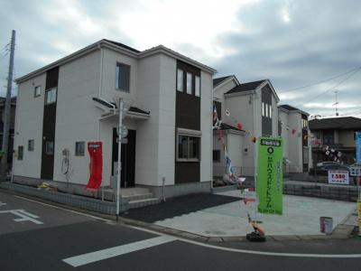 【外観】加須市久下6丁目/新築分譲住宅全5棟
