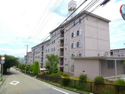 【外観】逆瀬川ハイツ6号棟