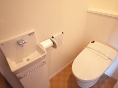 エコルクス地行(2LDK) トイレ 写真は別号室タイプです