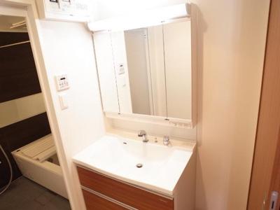 エコルクス地行(2LDK) 洗面台 写真は別号室タイプです