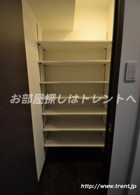 【収納】クレイシア新宿パークコンフォート