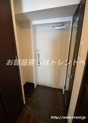 【玄関】クレイシア新宿パークコンフォート