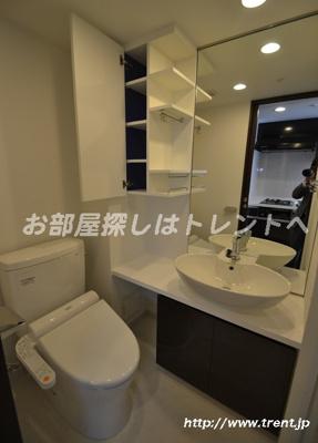 【トイレ】クレイシア新宿パークコンフォート