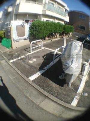 バイク駐輪スペース(5,000円/月)