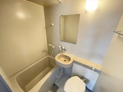 【浴室】フラット山城
