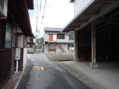 【前面道路含む現地写真】倉敷市下津井