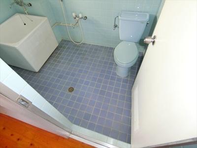 【浴室】コーポ照