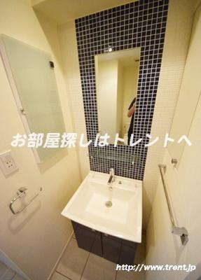 【洗面所】ラティエラ文京音羽