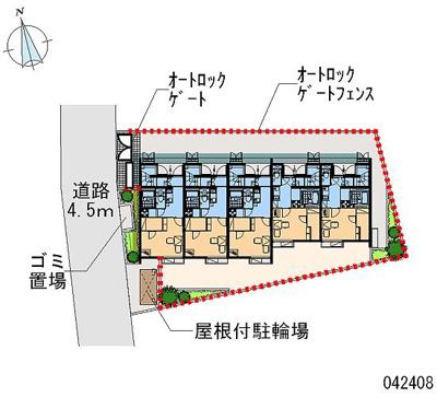 【地図】グリーンハイツ3号
