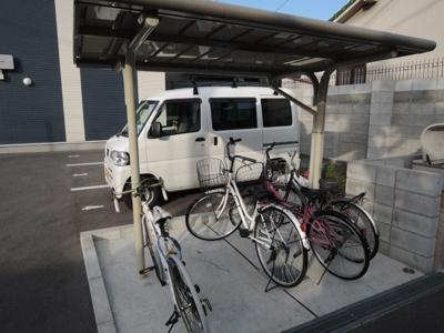 ☆屋根付駐輪場☆