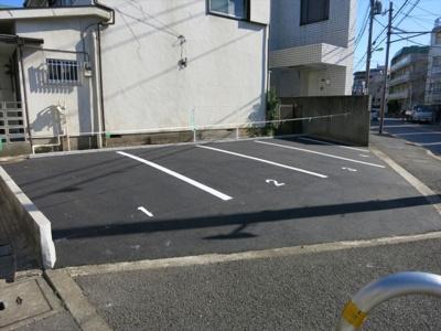 【外観】世田谷区中町3丁目14番駐車場