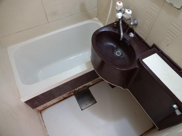 【浴室】畑本ハイツ