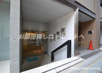 【エントランス】シティインデックス新宿若松町