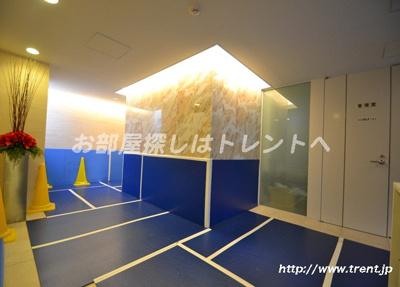 【ロビー】シティインデックス新宿若松町